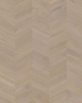 Merino Grey Oak Extra Matt - Intenso Chevron Wood Flooring